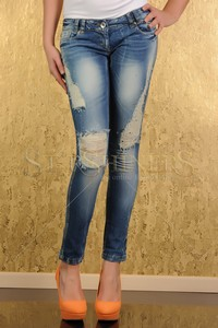 Jeans Mexton Little Diamonds Blue