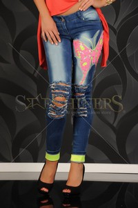 Jeans Ocassion Sweet Butterfly Blue