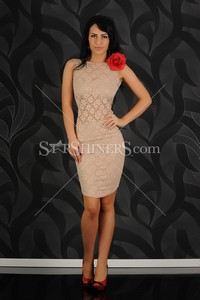 Rochie Fofy Beautiful Legend Cream