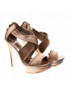 Sandale de dama bronze Fashion