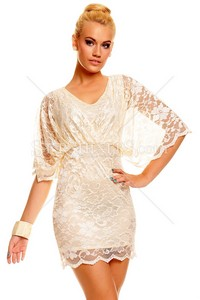 Rochie Ideal Thrill Cream