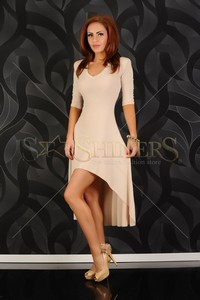 Rochie BB Fascinating Style Nude