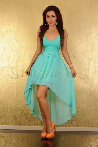Rochie Mexton Beauty Storm Turquoise