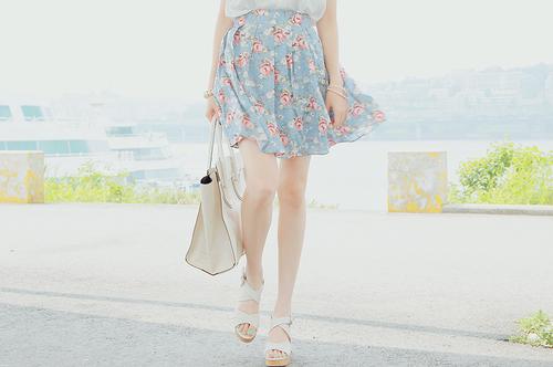 rochii de vara 2013 cu imprimeuri florale