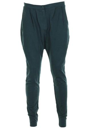 Pantaloni sport Bershka Frenzy Dark Green