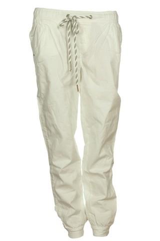 Pantaloni sport Bershka Sage White