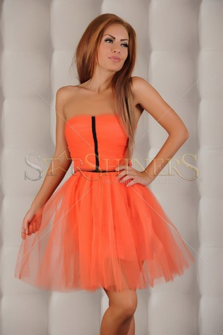 Rochie Ana Radu Romantic Life Orange