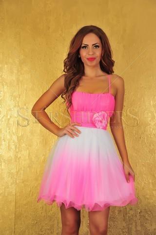 Rochie Fofy Brides Maid Pink