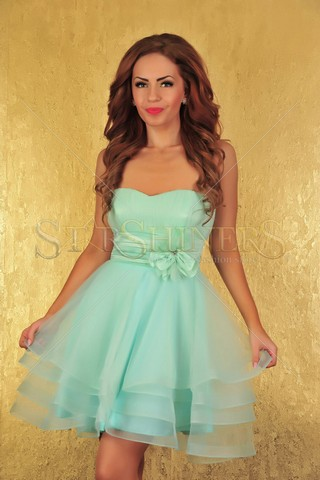 Rochie Fofy Rich Beauty Green