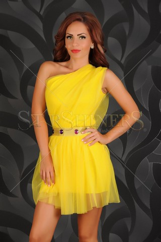 Rochie Ocassion Fabulous Yellow