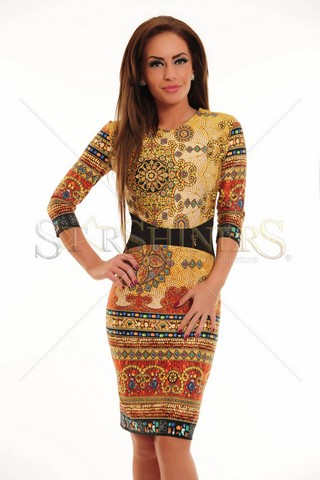 Rochie LaDonna Daily Sun Yellow