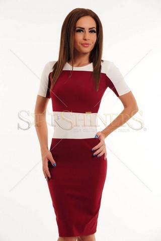 Rochie PrettyGirl Stylish Burgundy
