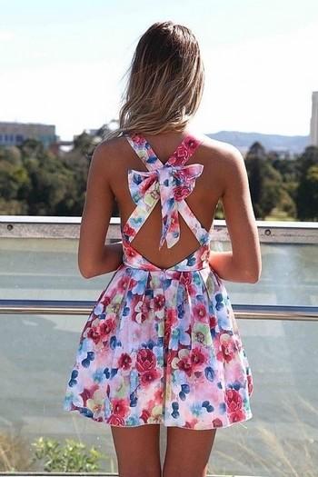 rochie cu imprimeu floral-min