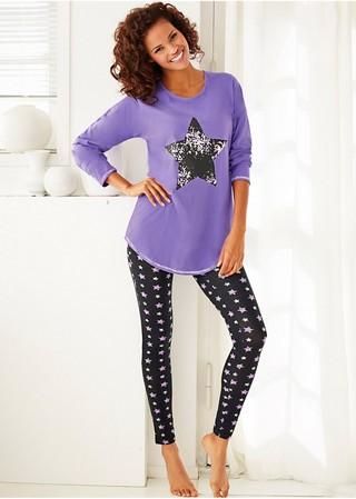 Fă-te comodă în pijamale din bumbac, cu pantaloni scurți sau cu dantelă romantică. Avem orice model - de la imprimeuri drăguțe clasice la modele simple delicate.