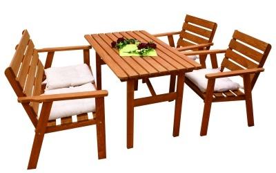 Mobilier gradina modele dedeman si praktiker belladiva for Masa cu scaune dedeman