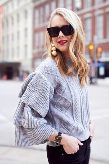 design inovator stil de moda pre-comanda pulovere dama tricotate | BellaDiva - Part 2