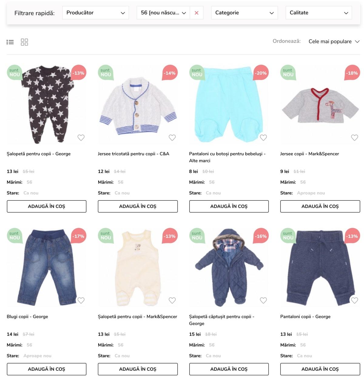 cost scăzut design unic super ieftin Haine ieftine pentru copii - comanda KidLet.ro | BellaDiva