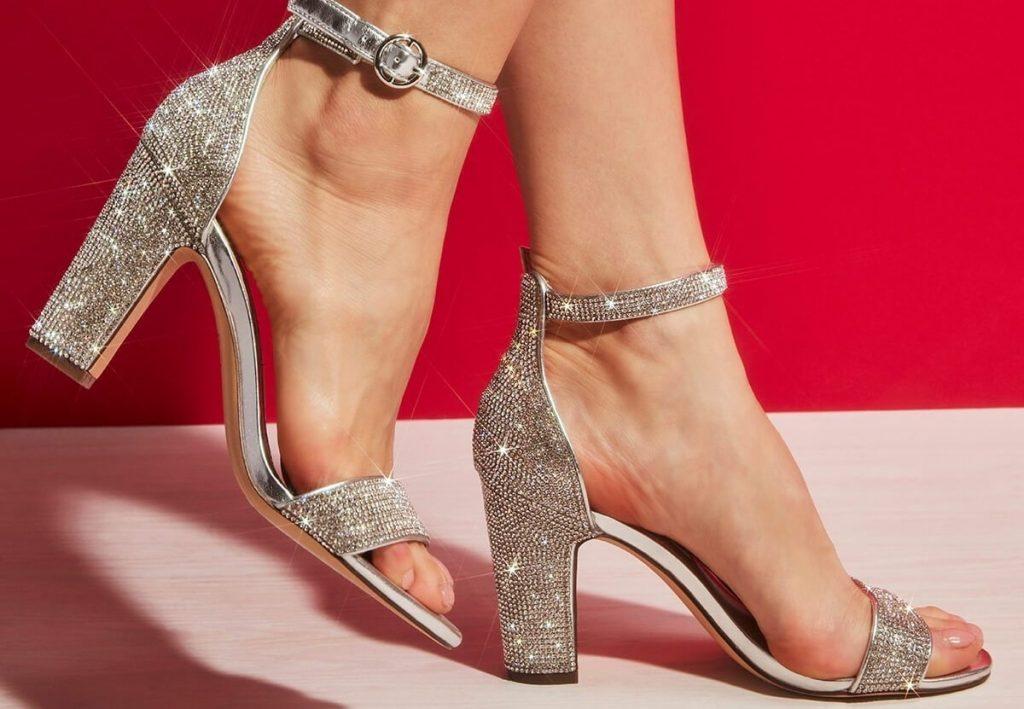 Sandale cu toc subtire - Sandale.Elyana.ro